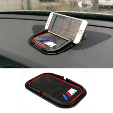 Car Phone No Slip Silicone Pad ///M Holder Mounts GPS Sat mat Nav For BMW Auto