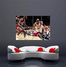 MICHAEL JORDAN NBA BASKETBALL 23 NEW GIANT WALL ART PRINT PICTURE POSTER OZ331