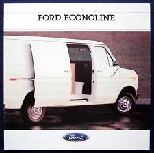 Prospekt brochure 1988 Ford Econoline (USA)