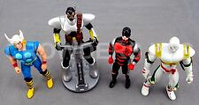 Marvel Thor 1991 & Armor Dare Devil 1990 TMNT Dragon Lord X-Men Comcast Toy Biz