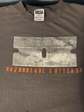 New listing Bush Razorblade Suitcase Shirt Xl Vintage 1990s Gray