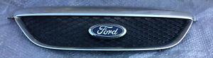Ford Falcon BA BF Fairmont GHIA front bumper bar cover radiator CHROME GRILLE