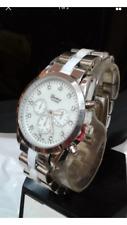 Silver White Geneva Metal Fashion Wrist Bracelet Watch Chic