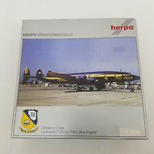 Herpa 552479 1:200 US Marine Corps Lockheed C-121J (L-1049) Blue Angels Model