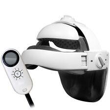 Dia Adjustable Vibrating Full Head Massager Heat Therapy Helmet Ache Acupressure
