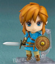 The Legend of Zelda Breath Of The Wild Nendoroid Link Figure Figurine Model Toys
