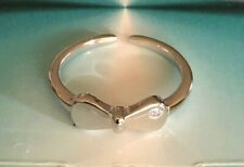 with Cz ! $8.29 All Sterling Sterling Silver!.925 Toe Ring! Snazzy Bow