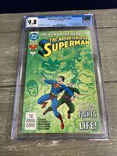 Adventures of Superman #500 - 1st Appearance of Steel - CGC 9.8 - DC Comics 6/93