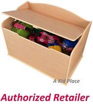 KIDKRAFT AUSTIN WOODEN TOY BOX 14953 KIDS GAMES STORAGE BENCH CHEST NATURAL NEW