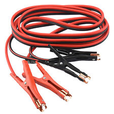 Booster Cable | 20' ft 4 Gauge Car Battery Jumper Heavy Duty Emergency Power
