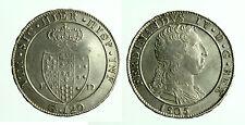 pci0011) Napoli regno Ferdinando IV (17659-1816) piastra 120  grana 1805