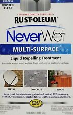 Rust Oleum NeverWet Multi Surface Liquid Repelling Treatment Kit - Clear F6282