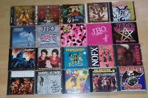 CD Sammlung -  Punk Rock / Punk - J.B.O. / Farmer Boys / Ramones / Rancid