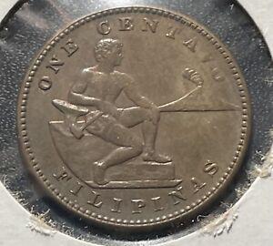 Philippines 1914 One Centavo Coin