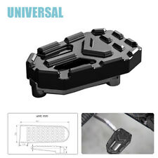 1PC Motorcycle Bike Widening Non-slip Brake Pedal Aluminum Eye-catching Part