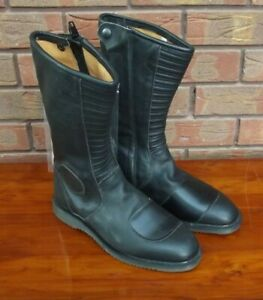 GENUINE PERIOD NOS DR MARTENS LEATHER VINTAGE ROCKERS KOMBI MOTORCYCLE BOOTS
