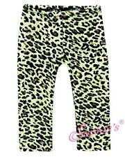"ANIMAL LEOPARD PRINT TAN LEGGINGS TIGHTS PANTS fit 18"" American Girl Doll"