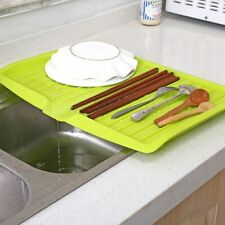 Drain Rack Kitchen Plastic Dish Drainer Tray Large Sink Organizer drying rack