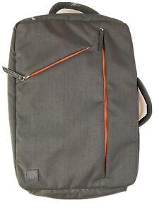 Moshi Backpack Messenger Bag - Black & Orange - NEW
