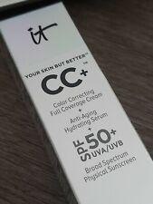 It Cosmetics Your Skin but Better CC Cream With SPF 50 Medium Tan 1.08 Oz