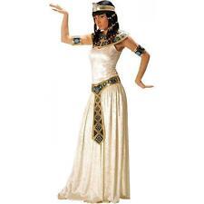 CLEOPATRA ÄGYPTERIN KOSTÜM Gr. M 38-40  Karneval Damen Kleid Ägypten Pharao 3277