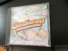 Geosafari Multimedia Game Vol 1 Cd-Rom Geography History Science- Ships Fast