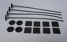 Kunstoff Befestigung ´s Nägel für z.B Spal 12V Lüfter -  ab Lager verfügbar