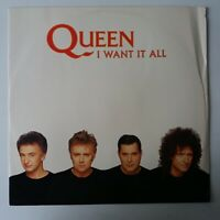 """Queen - I Want It All - 12"""" Vinyl Record Single EX/EX"""