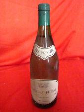 """bouteille de 70 cl """"Pouilly-Fuissé"""" blanc année 1979"""