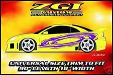 ZGI CUSTOM 1 - COLOR  AUTO SIDE GRAPHICS!!  A-839