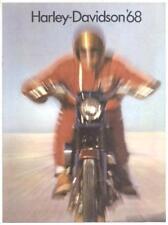 1968 Harley Davidson Full Line  Brochure