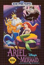 ## SEGA Mega Drive - Ariel the little Mermaid - TOP / MD Spiel ##