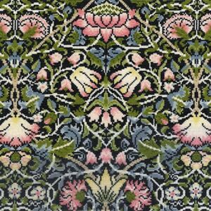 Bothy Threads ~ Counted Cross Stitch Kit ~ William Morris ~ Bell Flower ~ XAC5
