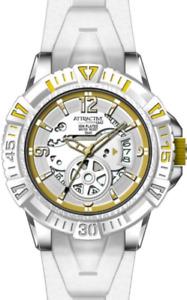Q&Q  Attractive  Analog   Date   White  Dial  Unisex  Watch  50m   DA72J301Y