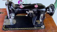 Vintage Pfaff 130 Sewing Machine and cabinet WORKING