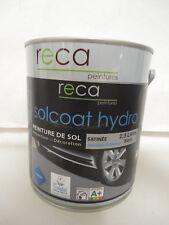 2,5 L DE PEINTURE SPECIAL SOL SOLCOAT HYDRO BLANC SATINEE INT / EXT RECA