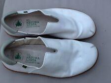 El Naturalista El Viajero Womens White Leather Slip on shoes Size UK 7 uk 40 eu
