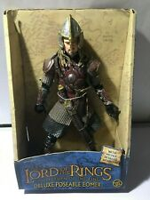 The Lord of the Rings Return of the King Deluxe Poseable Eomer new complete