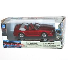 Newray - FORD MUSTANG G.T. CONVERTIBLE (Red) - Model Scale 1:43