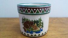 Pine Ridge Pottery Beaver Crock