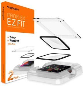 Apple Watch Series 7 6 5 4 SE | Spigen Pro Flex Screen Protector