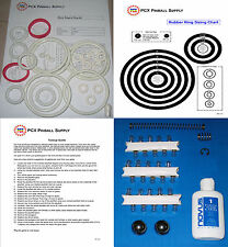 1980 Gottlieb Buck Rogers Pinball Machine Tune-up Kit - Includes Rubber Ring Kit
