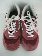 WOMENS NEW BALANCE 574 BURGUNDY SUEDE TRAINERS LEISURE RUNNING SHOES SIZE 5