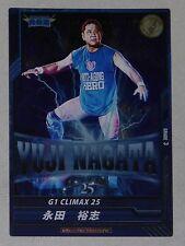 Yuji Nagata 2015 New Japan Pro Wrestling G1 Climax 25 Card NJPW WWE ROH IWGP WCW