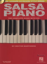 Salsa Piano The Complete Guide Music Book/CD Hal Leonard Keyboard Style Series