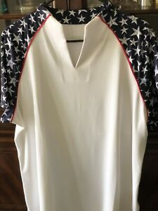 Jofit Womens Short Sleeve Vista Mock Golf Shirt GT430-MSR Star Print - Choose