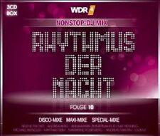 WDR4 RHYTMUS DER NACHT VOL.10 3 CD MIT HELENE FISCHER, LUCA, ANDREA BERG UVM. NE