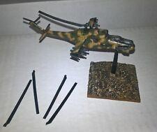 10mm / 12mm 1/144 Soviet Minifigs MI24 Hind painted wargames Team Yankee