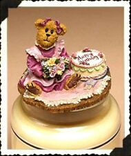 """Boyds Candle Topper """"Patty. Happy Birthday""""- #651226 - Resin~ New- Retired"""