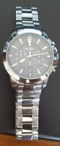 Men's Watch FOSSIL Grant Chronograph Gunmetal Ion-plated